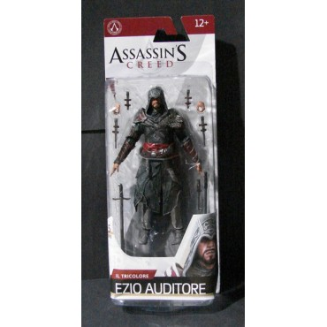 ASSASSIN'S CREED SERIES 5 - IL TRICOLORE EZIO AUDITORE ACTION FIGURE (17cm)