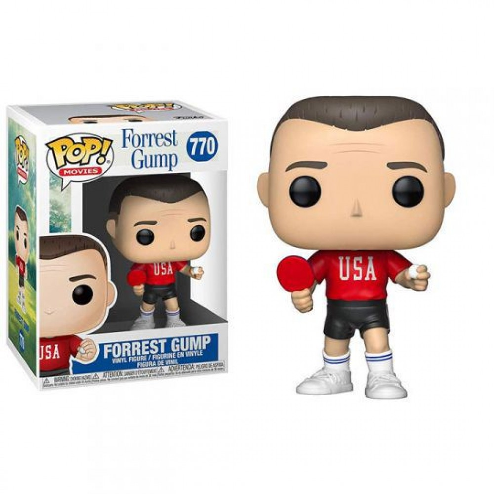 Funko POP! Movies: Forrest Gump - Forrest (Ping Pong Outfit) #770