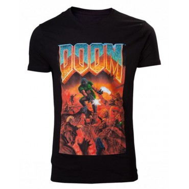 Doom - Classic Box Art T-Shirt L / krekls