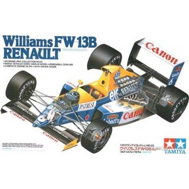 Tamiya 1:20 Scale Williams FW13B Formula 1 Model Kit