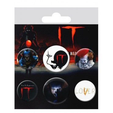 IT Button Mix Badges (6 pins) (BP0745) 6 nozīmītes