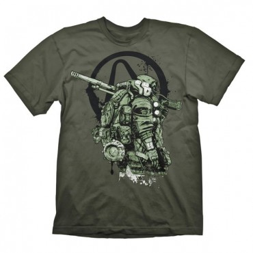 "Gaya Borderlands 3 - ""FL4K"" Khaki T-Shirt XXL"