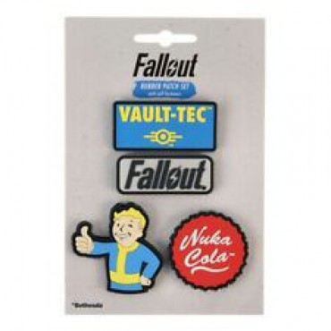 Fallout Rubber Patch Set / UZŠUVJU KOMPLEKTS