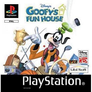 PS1 DISNEY'S GOOFY'S FUN HOUSE
