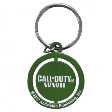 Call of Duty WWII - Logo Freedom Star Spinner Keychain / PIEKARIŅŠ