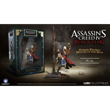 ASSASSIN'S CREED - EDWARD KENWAY MASTER OF THE SEAS PVC Statue (41cm)
