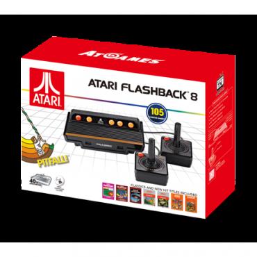 ATARI FLASHBACK 8 105 BUILT IN GAMES