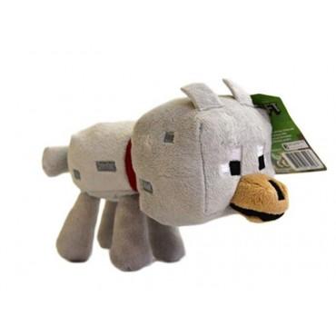 Minecraft Baby Wolf Plush (20cm)