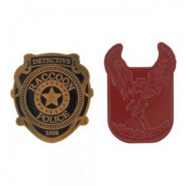 Resident Evil 2 - 2 Pin Badge Set