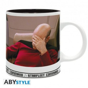 Abysse Star Trek - Facepalm 320ml Mug