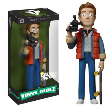 BACK TO THE FUTURE VINYL IDOLZ - MARTY MCFLY FIGURE #4