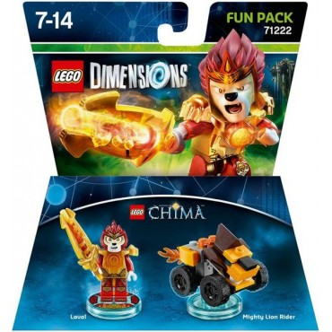 LEGO DIMENSIONS FUN PACK LAVAL