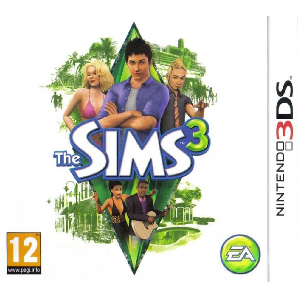 3DS THE SIMS 3 LIETOTS