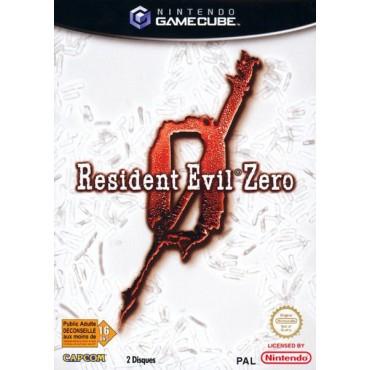 GAMECUBE RESIDENT EVIL ZERO LIETOTA
