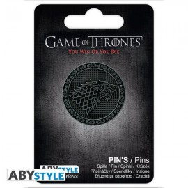 Game of Thrones - Stark Pin / nozīmīte