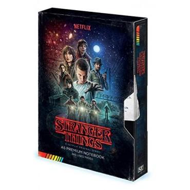 Pyramid Stranger Things - VHS Premium A5 Notebook