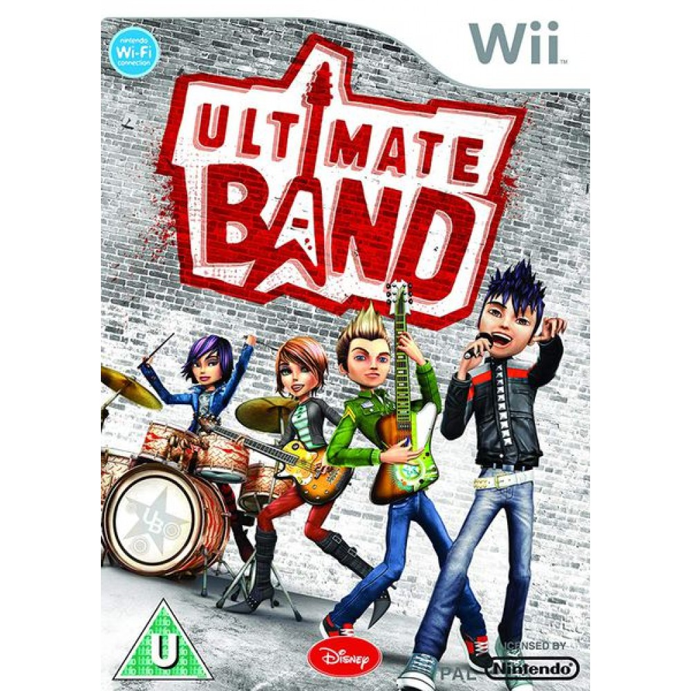 WII ULTIMATE BAND LIETOTS
