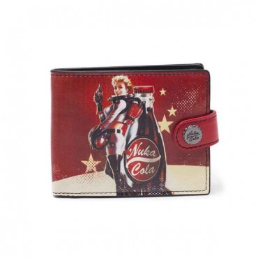 Fallout 4 - Fallout Nuka Cola Bifold Wallet / MACIŅŠ