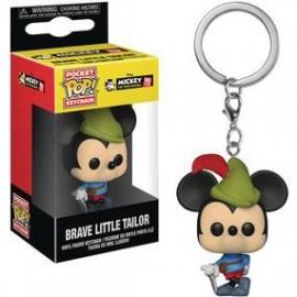 Pocket POP! Disney: Mickey 90th Anniversary - Brave Little Tailor Vinyl keychain / PIEKARIŅŠ