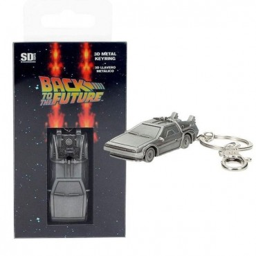 Back to the Future - Delorean 3D Metal Keychain