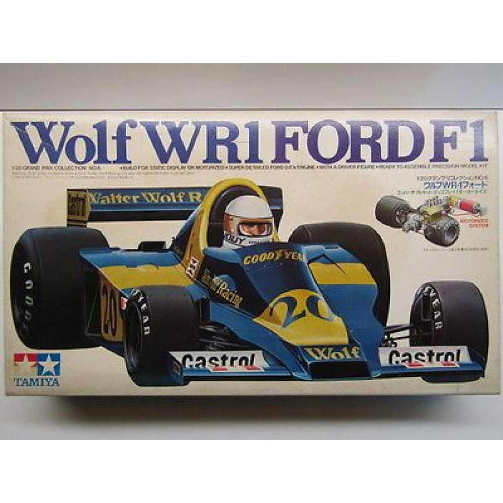 Tamiya 1:20 Scale Wolf WR1 Ford F1 Model Kit