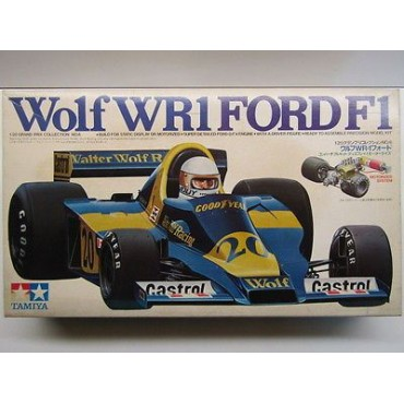 Tamiya 1:20 Scale Wolf WR1 Ford F1 Model Kit