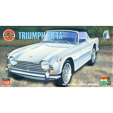 AIRFIX TRIUMPH TR4A 1/32 SCALE MODEL KIT