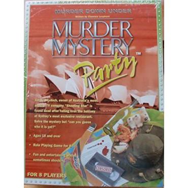 MURDER MYSTERY PARTY MURDER DOWN UNDER