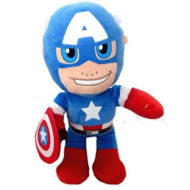 Captain America Super Hero Squad Soft Plush Toy 30cm