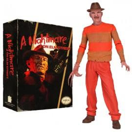 A NIGHTMARE ON ELM STREET - CLASSIC VIDEO GAME APPEARANCE CLOTHED ACTION FIGURE (20cm)