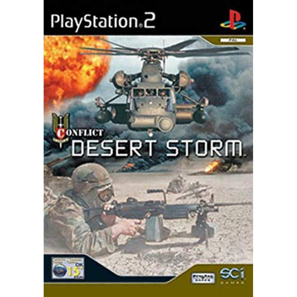 PS2 CONFLICT DESERT STORM LIETOTS