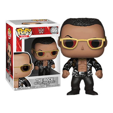 POP! WWE - THE ROCK (LIMITED CHASE EDITION) #46