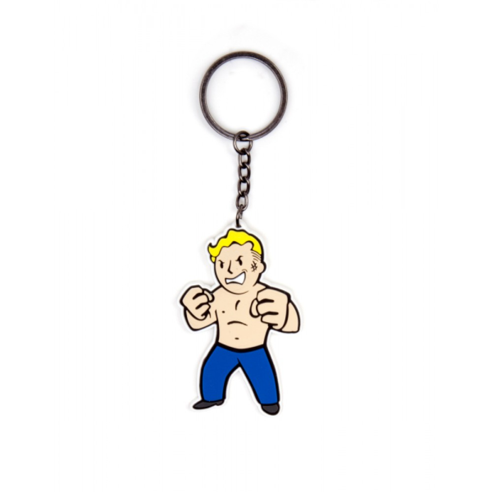 FALLOUT 4 - STRENGTH SKILL KEYCHAIN