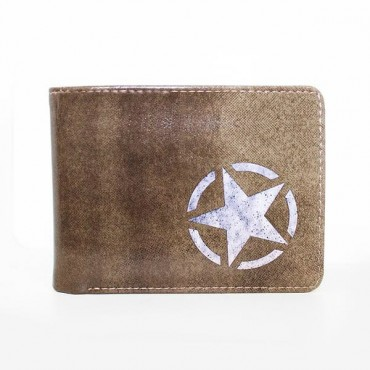 Call of Duty WWII - Logo Freedom Star Wallet / MACIŅŠ