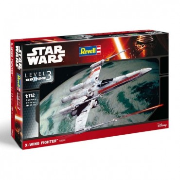 STAR WARS EPISODE VII - X-WING FIGHTER 1:112 - MODEL KIT / SALIEKAMS MĒROGA MODELIS