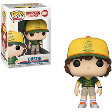 POP! TELEVISION STRANGER THINGS DUSTIN (AT CAMP) #804
