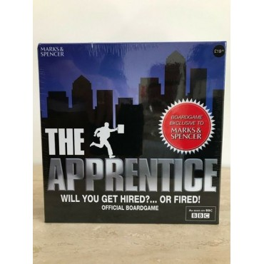 THE APPRINTICE WILL YOU GET HIRED? ... OR FIRED OFFICIAL BOARDGAME