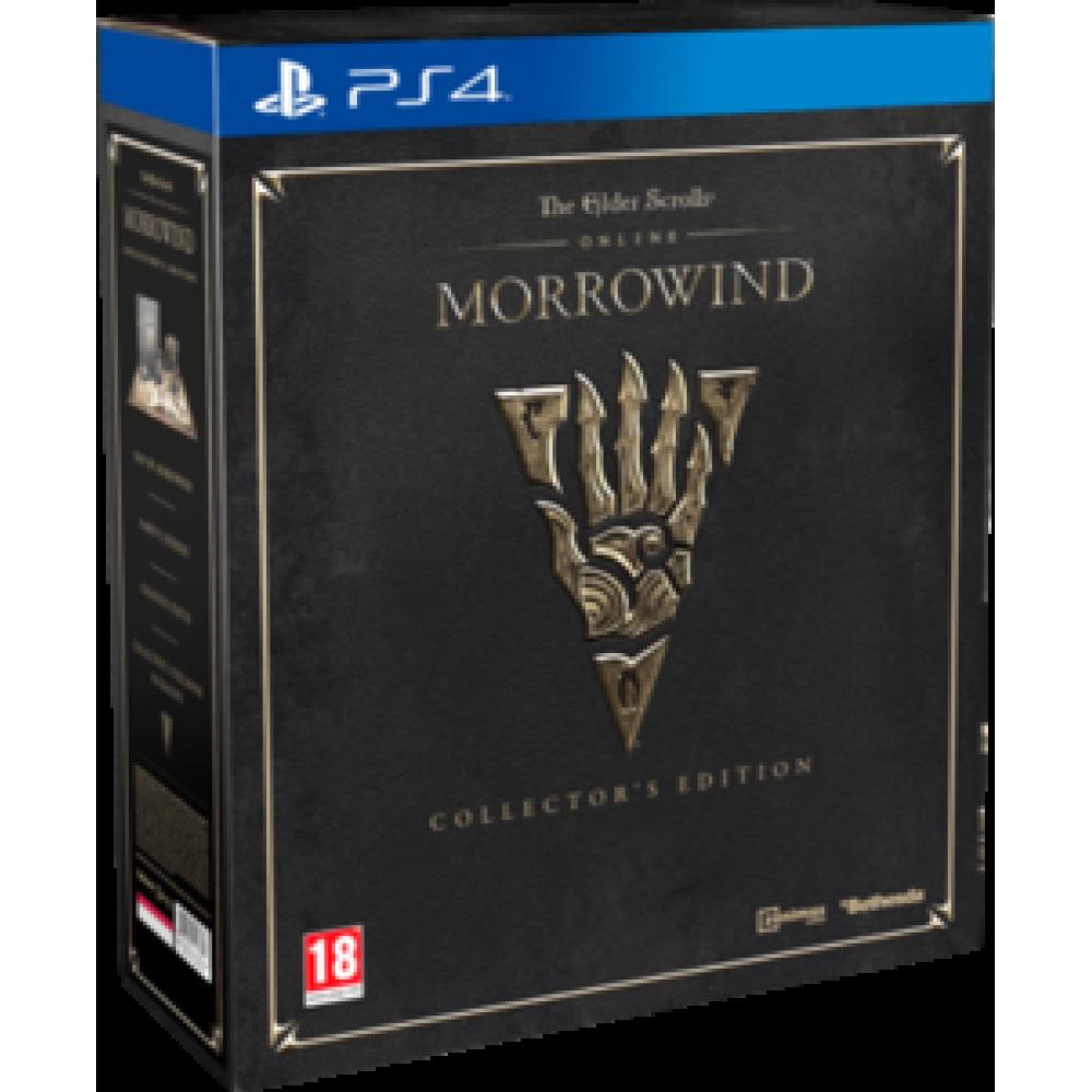PS4 The Elder Scrolls Online Morrowind Collectors Edition