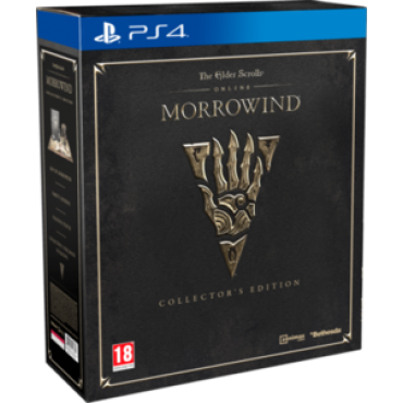 PS4 The Elder Scrolls Online Morrowind Collectors Edition