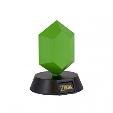 The Legend of Zelda - Green Rupee 3D Light / LAMPA
