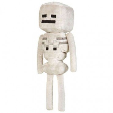 """MINECRAFT 12"""" SKELETON PLUSH WITH HANG TAG"""
