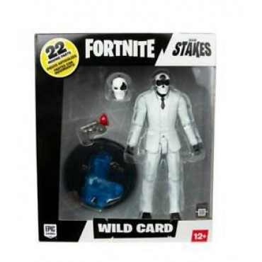 FORTNITE WILD CARDS BLACK ACTION FIGURE