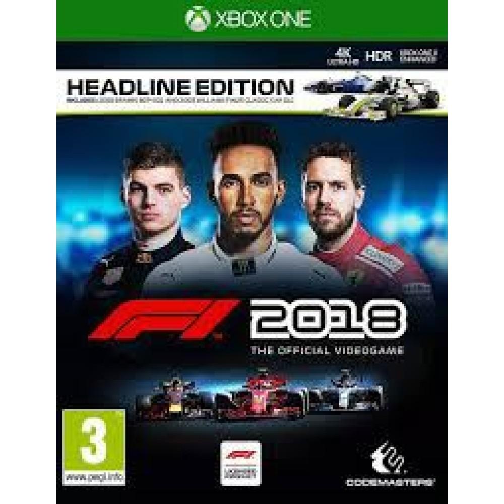 XBOX ONE F1 2018 Headline Edition
