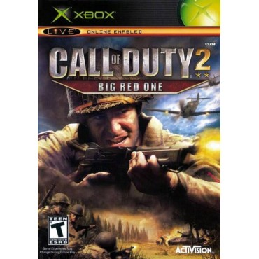 XBOX CALL OF DUTY 2 BIG RED ONE PAL