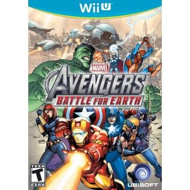 WII U AVENGERS BATTLE FOR EARTH LIETOTS