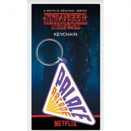 Pyramid Stranger Things - Palace Arcade Rubber Keychain