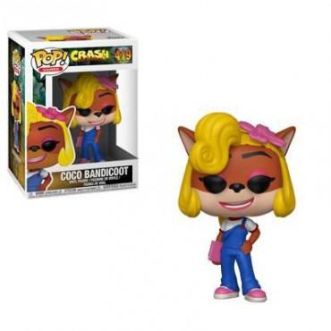 POP! Games: Crash Bandicoot - Coco Bandicoot #419 Vinyl Figure