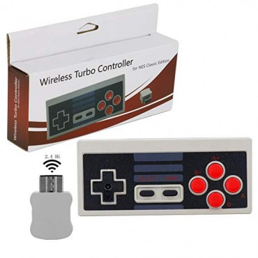 NES CLASSIC WIRELESS TURBO CONTROLLER