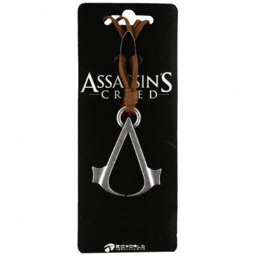 ASSASSIN'S CREED III - LOGO BROWN NECKLACE / KAKLAROTA