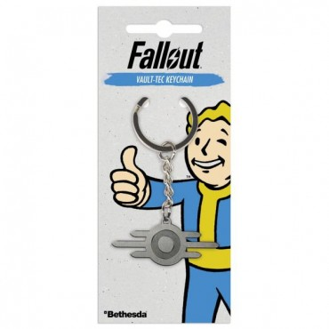 "Fallout - ""Vault-Tec"" Keychain"